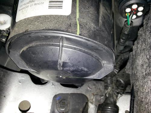 Fiat 500 Headlight Cap 6002TR0013