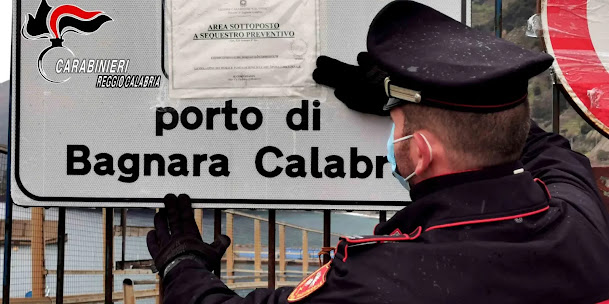 BAGNARA CALABRA (Rc): sequestrato il porto (VIDEO)