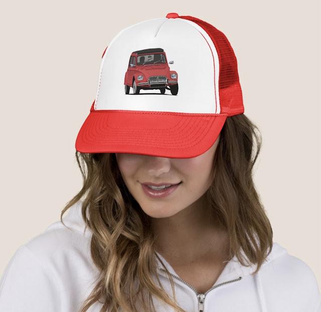 Citroën Dyane trucker hats