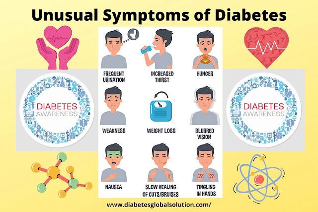 Unusual Symptoms of Diabetes