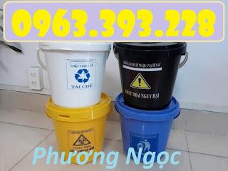 Xô y tế, xô đựng rác thải y tế, thùng rác y tế, xô y tế trên xe tiêm 5c5020979f4a3_1548755095
