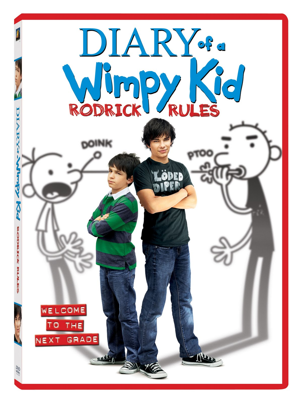 Stacy Tilton Reviews: Diary of a Wimpy Kid: RODRICK RULES DVD