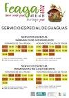 Feaga 2019 : El Cabildo de Fuerteventura pone servicios especiales de guaguas con parada dentro del recinto ferial de Pozo Negro