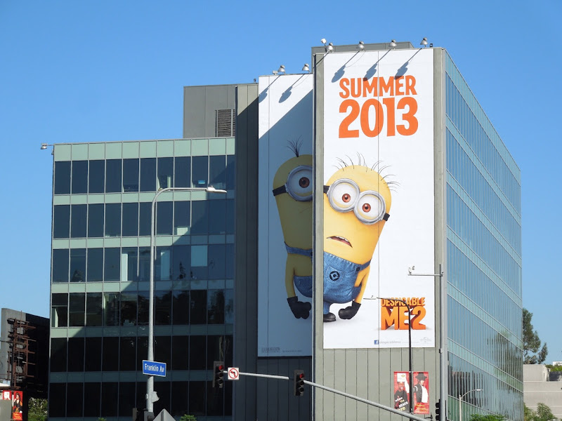 Despicable Me 2 teaser billboard
