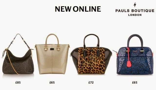 Paul S Boutique Handbags New Aw14 Collection Now Online