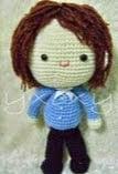 patron gratis muñeco amigurumi