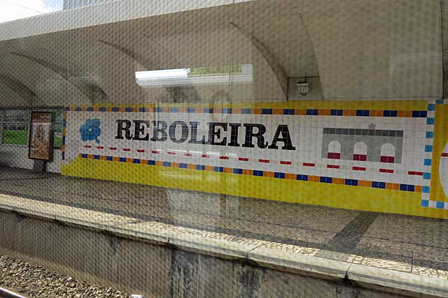 Reboleira Station, Sintra Line, Lisbon
