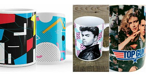 80s Mugs Collage