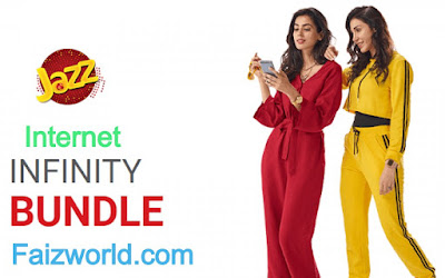 Jazz Infinity internet Bundle Package Unlimited Expiry 2020 - jazz infinity bundle code