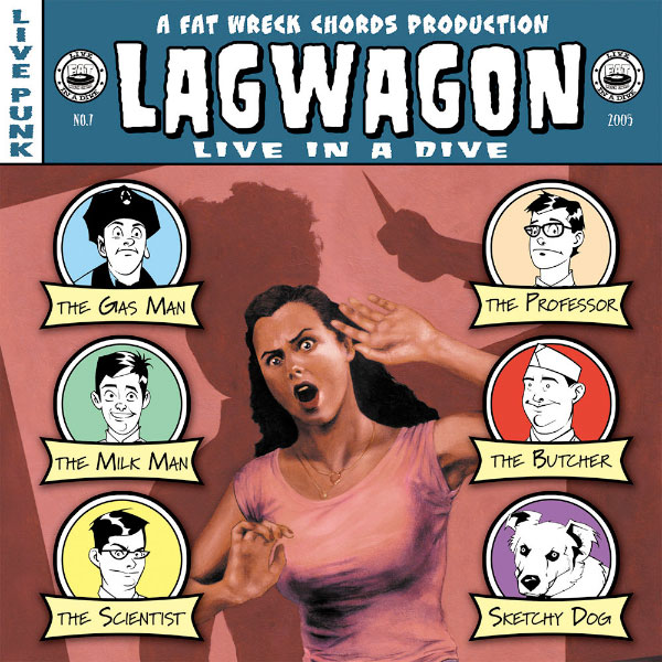 Lagwagon - Live In a Dive (2005)