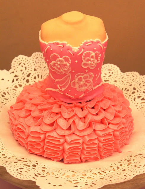 One Pinky Girly Ballerina Party... and Cake