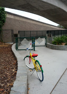 Gbike more than four miles from the Google campus.