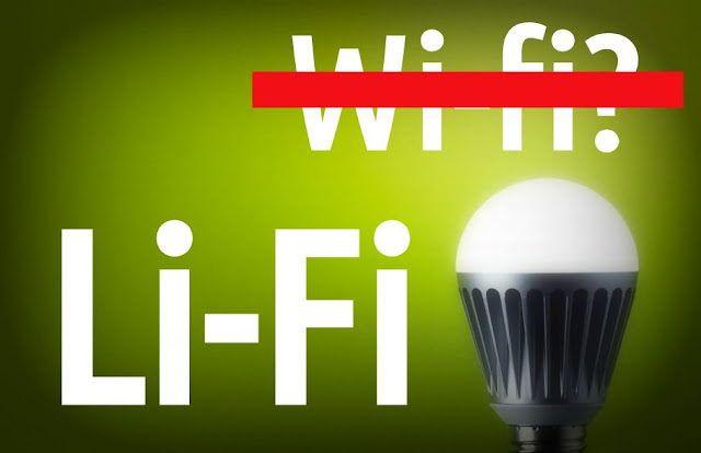 LiFi - like WiFi, but 100 times faster - New Technology Invention