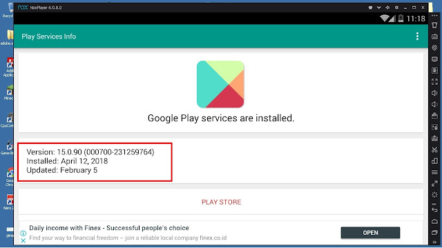 Langkah - Langkah Cara Memperbarui Play Store Services