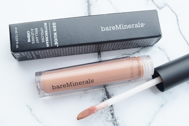 Bare Minerals Gen Nude Buttercream Lipgloss in Fly
