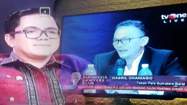 ILC Heboh, Hasril Chaniago Ungkit Kakek Politikus PDIP Arteria Dahlan adalah Pendiri PKI Sumbar