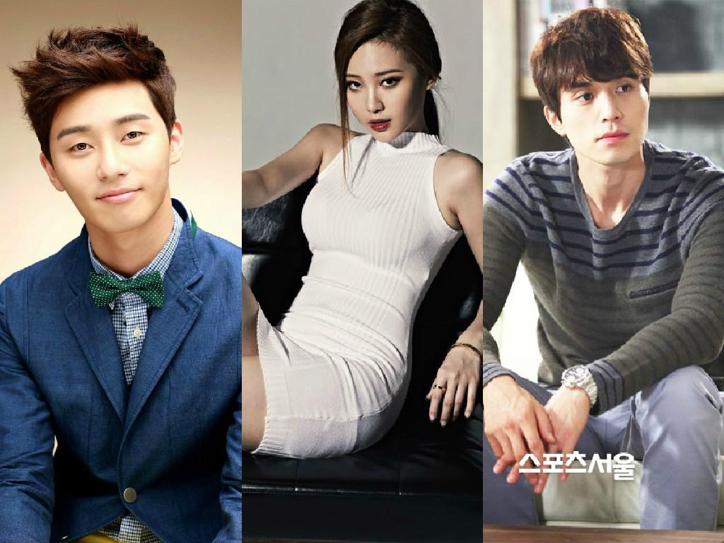 Yura Girl's Day, Lee Dong Wook dan Park Seo Joon Jadi Tamu