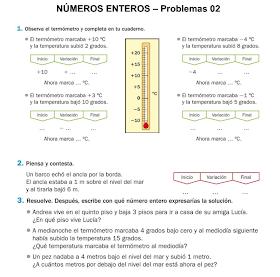 Milagrotic Matematicas 6º Problemas Con Numeros Enteros Coordenadas Cartesianas Graficos Lineales Tema 3 6º Parte Iii