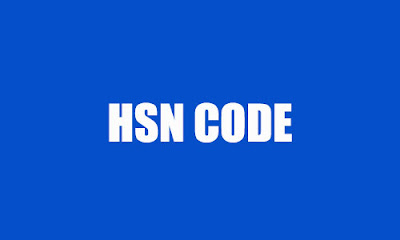 HISTORY OF HSN CODE