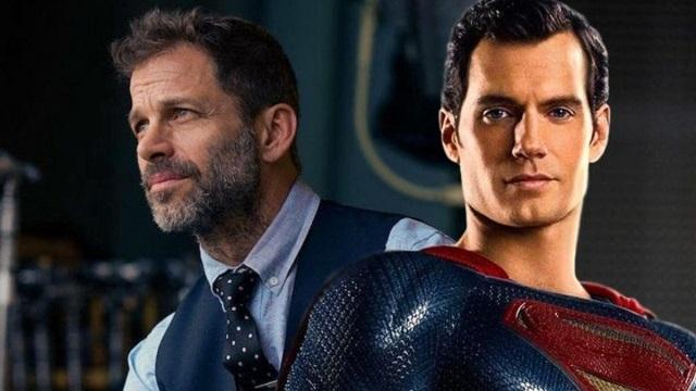 Zack Snyder e Henry Cavill/Reprodução