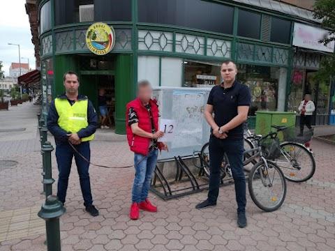 Elkapták a biciklilopással gyanúsított fiatalt