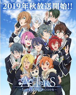 """Anime: Tres nuevos vídeos para el anime """"ACTORS: Songs Connection"""""""