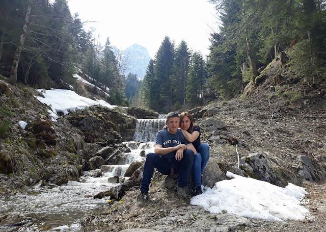 Haciendo senderismo por el Moléson, Suiza