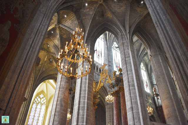 Interior de la Catedral de Narbonne