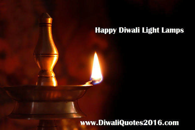 Happy Diwali Sayings {2016} Gift Ideas, Light Lamps