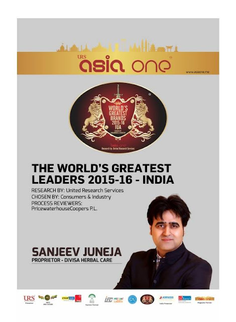 The World's Greatest Leaders 2015-16 - India - Sanjeev Juneja