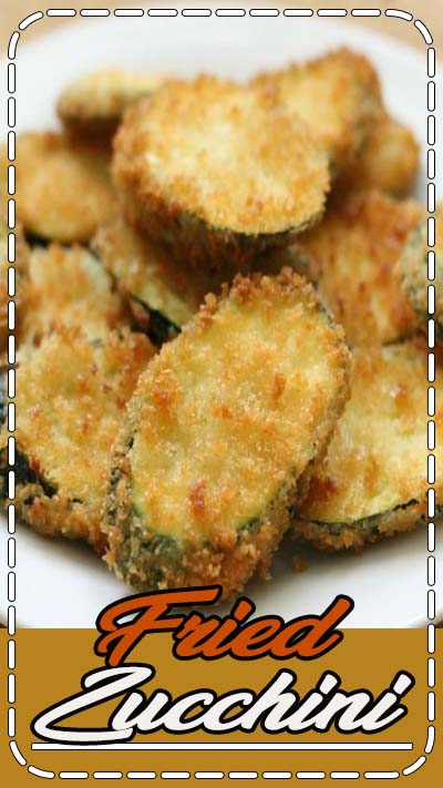 Restaurant-style Fried Zucchini - this delicious side and appetizer is a family favorite. Fried to perfection, this dish often served with Ranch or marinara is simply addicting!