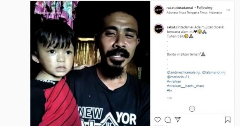 Mukjizat di Adonara, Bocah Dua Tahun Ditemukan Selamat Saat Terseret Banjir Bandang
