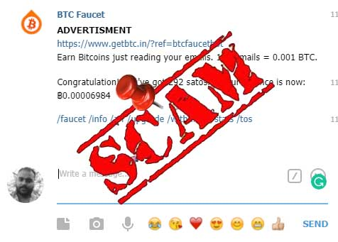 Telegram Bitcoin Faucet Bot - Bitcoin Mining Telegram