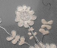 Embroidered dress panel courtesy of Elizabeth Braun