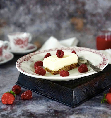 fraises , spéculoos , glace , dessert rapide à préparer