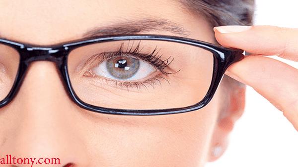 العلامات التي ينطوي عليها ضعف النظر