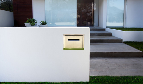 Kotak surat minimalis untuk ide pagar rumah