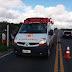 Acidente de moto no povoado Vila Nova dos Irrigantes, município de Várzea da Roça