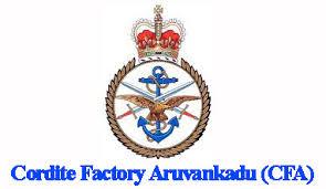 Cordite Factory Aruvankadu Recruitment