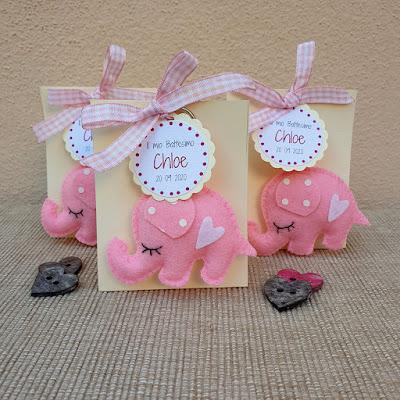 bomboniera portachiavi elefantino bimba