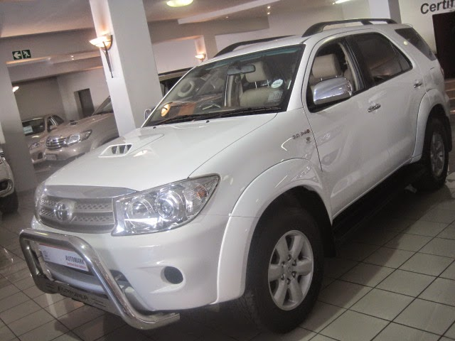 Used Cars for sale Toyota Fortuner 3.0