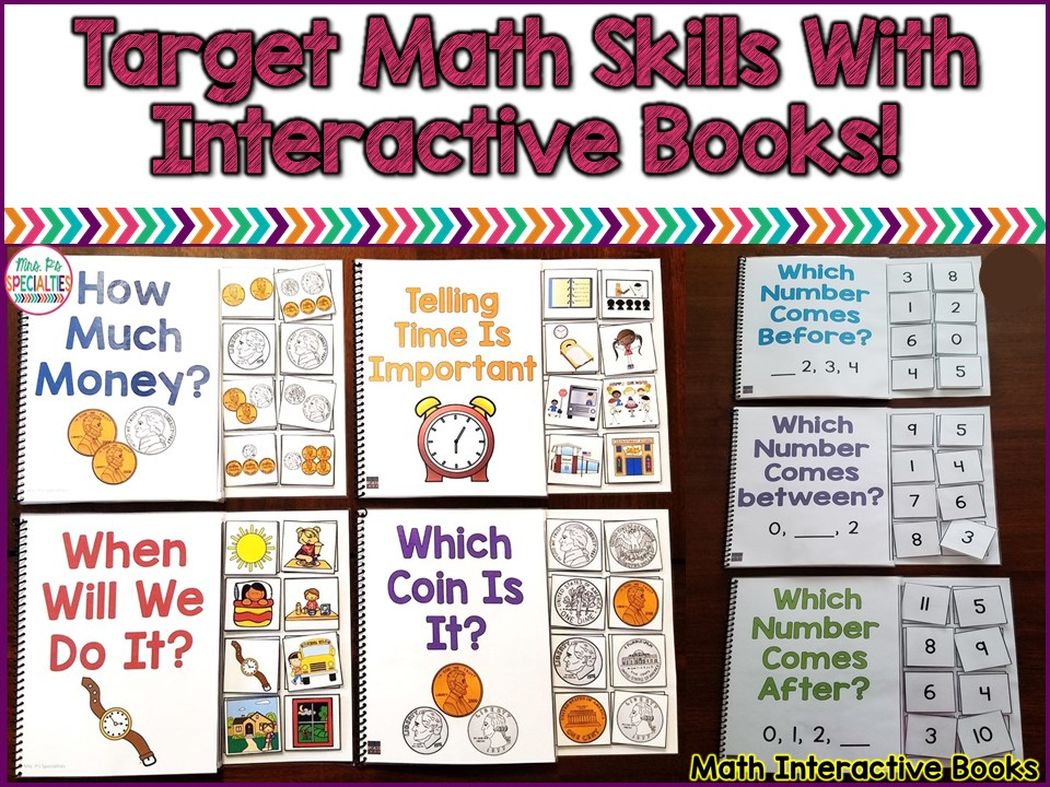 How To Use Interactive Books To Target Math Skills   Mrs. P\'s ...