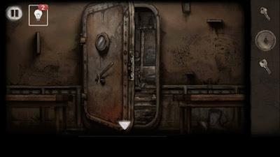 открываем двери железной палкой и шестеренкой