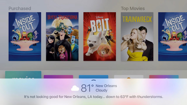 Apple released tvOS 9.1 beta 3 for the new Apple TV