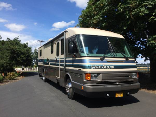 Used rvs pace arrow 36ft diesel pusher for sale by owner for Used diesel motor homes