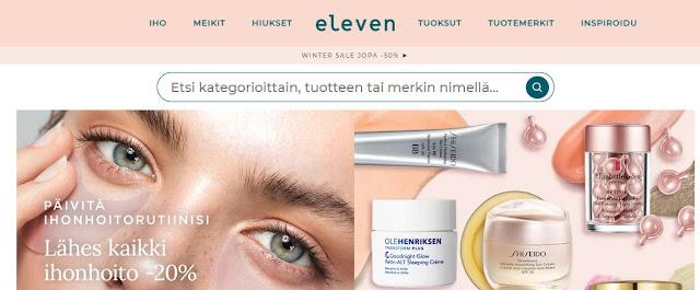 eleven kosmetiikkaa netistä