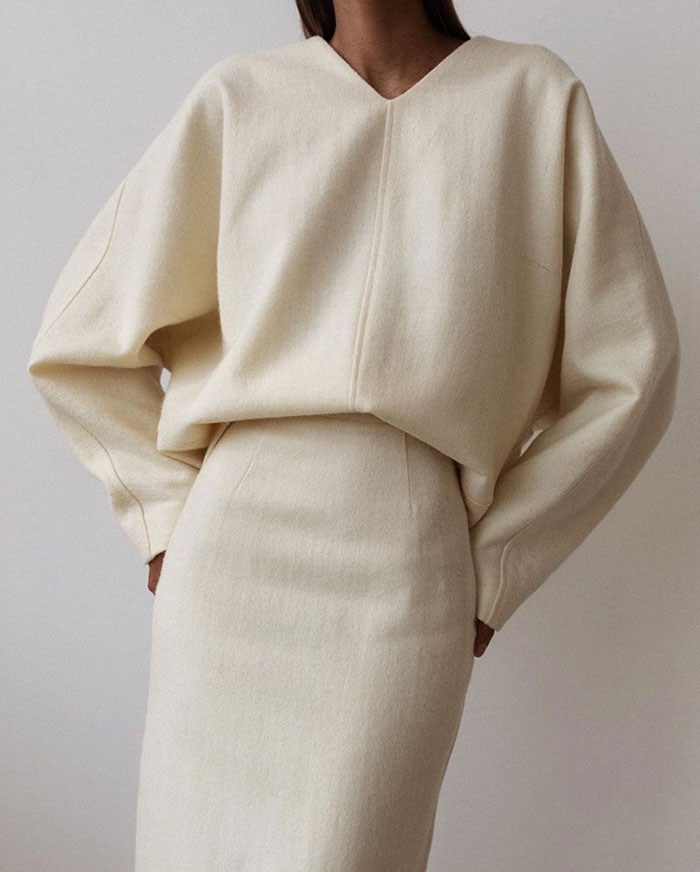 Moodboard | Holiday Style Inspiration 2019 : Warm Winter Whites