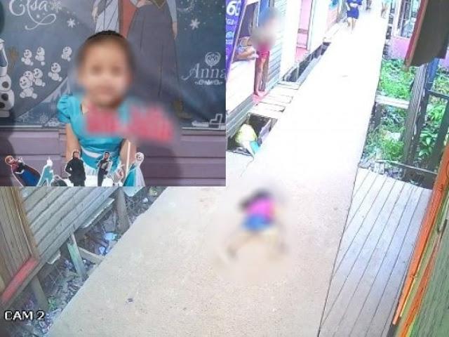 Criança de 5 anos é morta com tiro na cabeça enquanto caminhava para comprar lanche