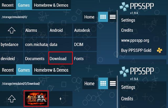 Cara Download dan Instal Game PPSSPP di Android