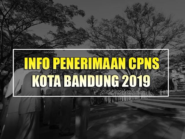 CPNS 2019: Kota Bandung Dapat Jatah 868 Posisi, Inilah Formasinya
